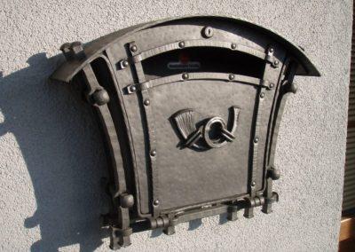 poštovní schránka kovářství tomšej